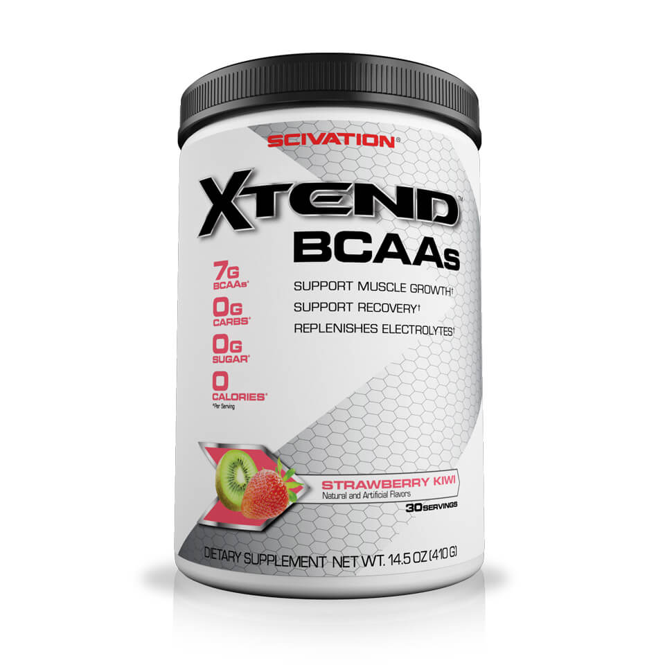 Scivation Xtend BCAA Strawberry/Kiwi 30 portioner