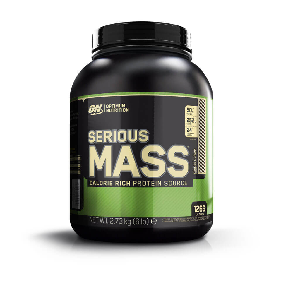 Optimum Nutrition Serious Mass 2,7 kg Cookies & Cream