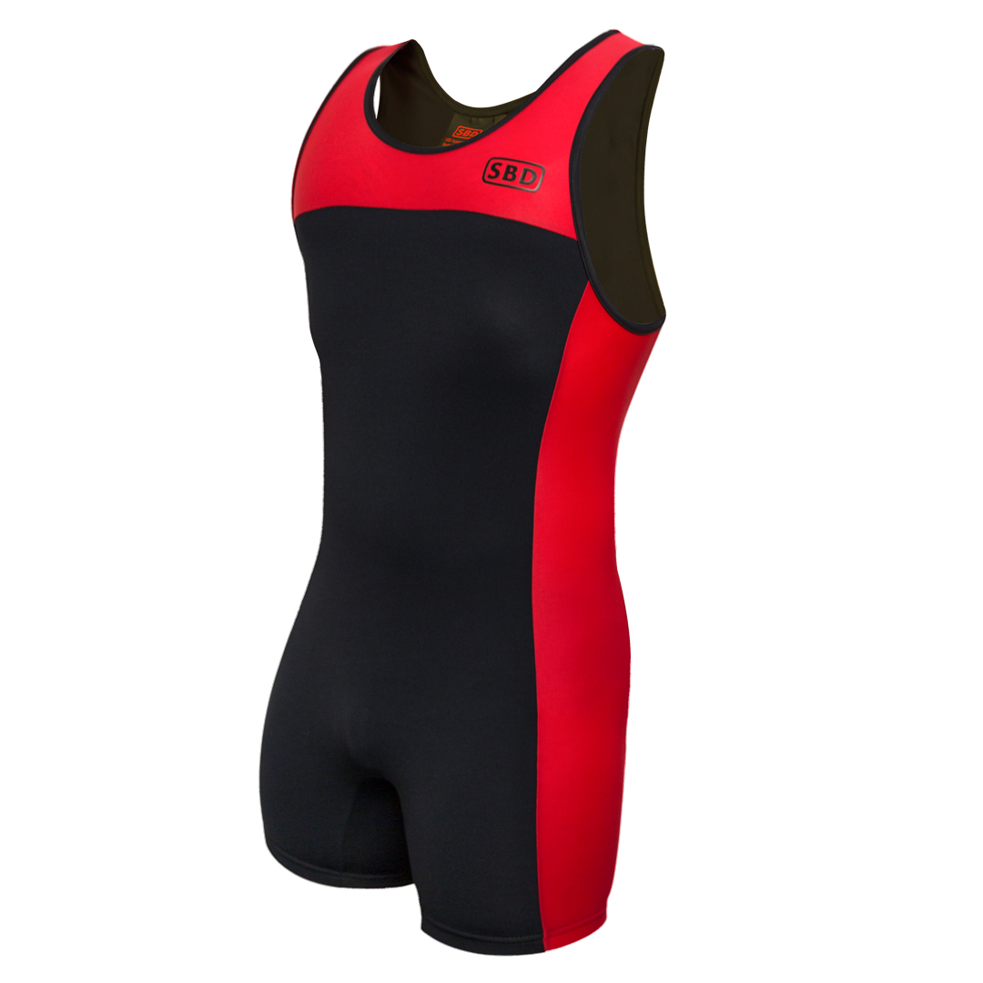 SBD Apparel SBD Singlet NEW L Black/Red - SBD Apparel