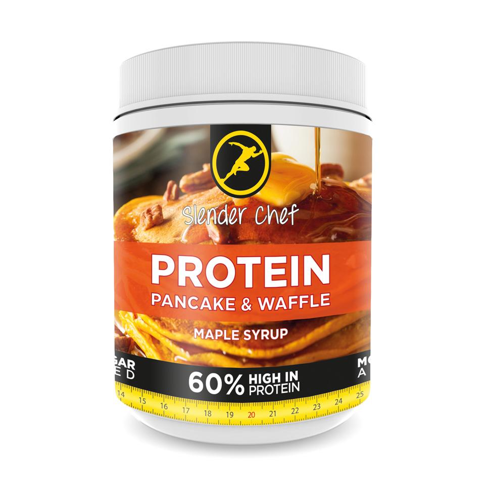Slender Chef Protein Pancake & Waffle Mix 500 gram Maple Syrup - Slender Chef