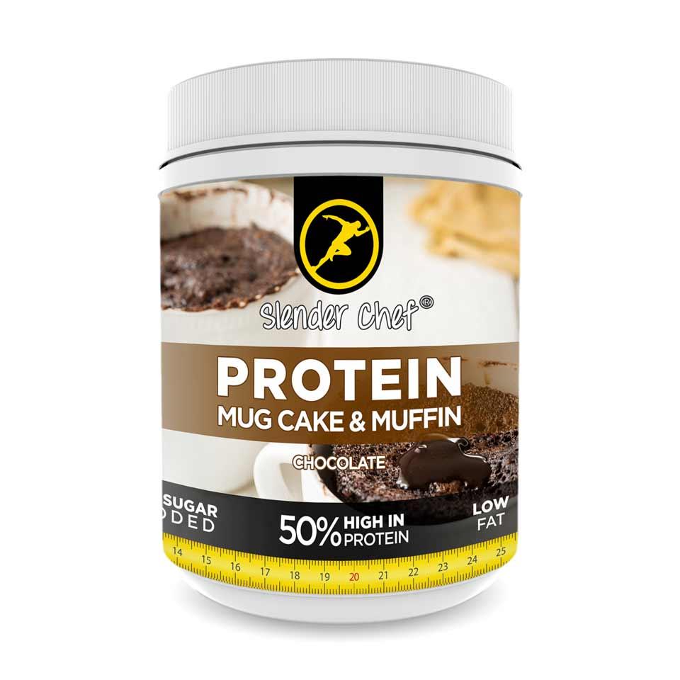 Slender Chef Protein Mug Cake & Muffin Mix 500 gram Chocolate - Slender Chef