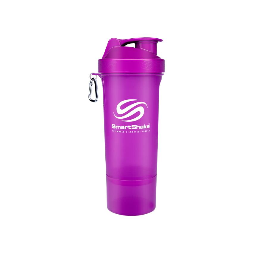 SmartShake Slim shaker Neon Purple