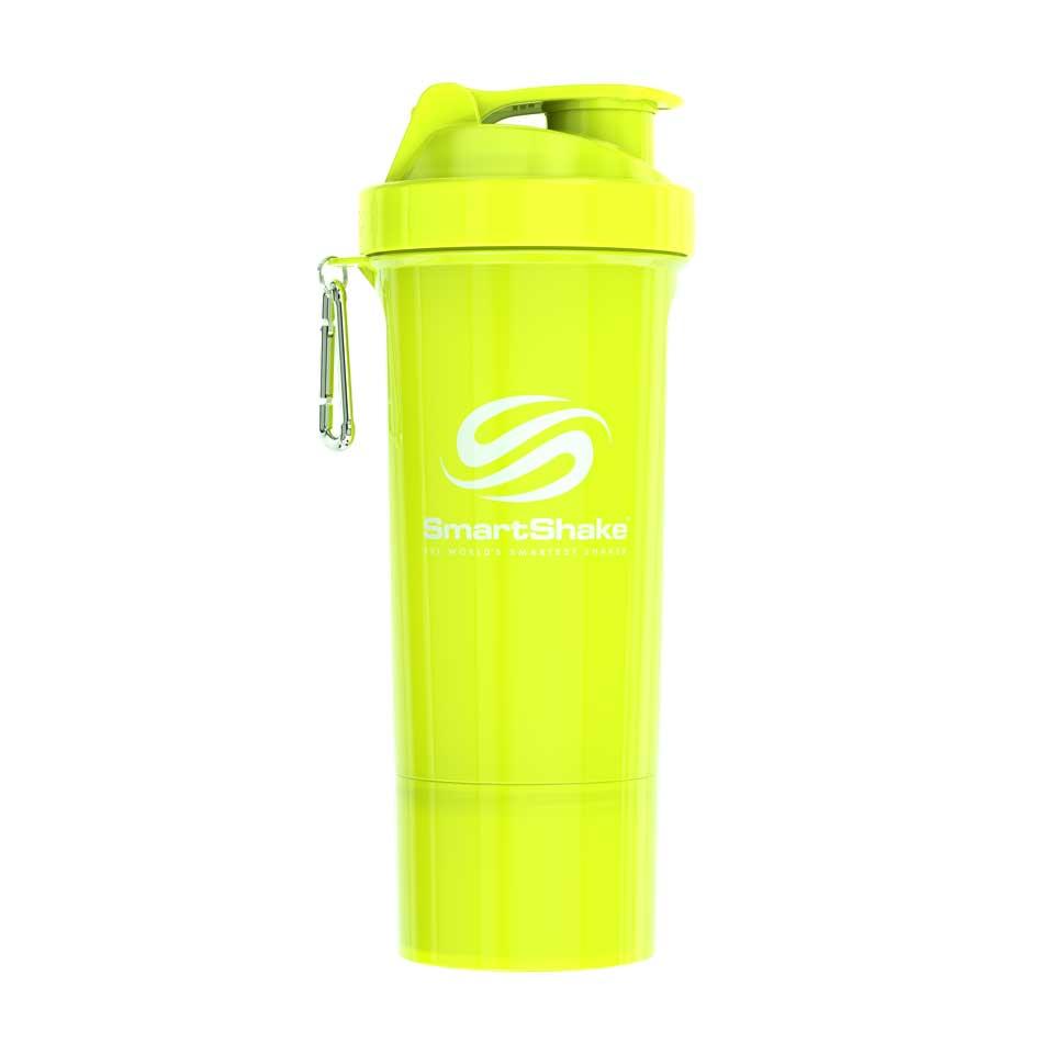 SmartShake Slim shaker Neon Yellow V2