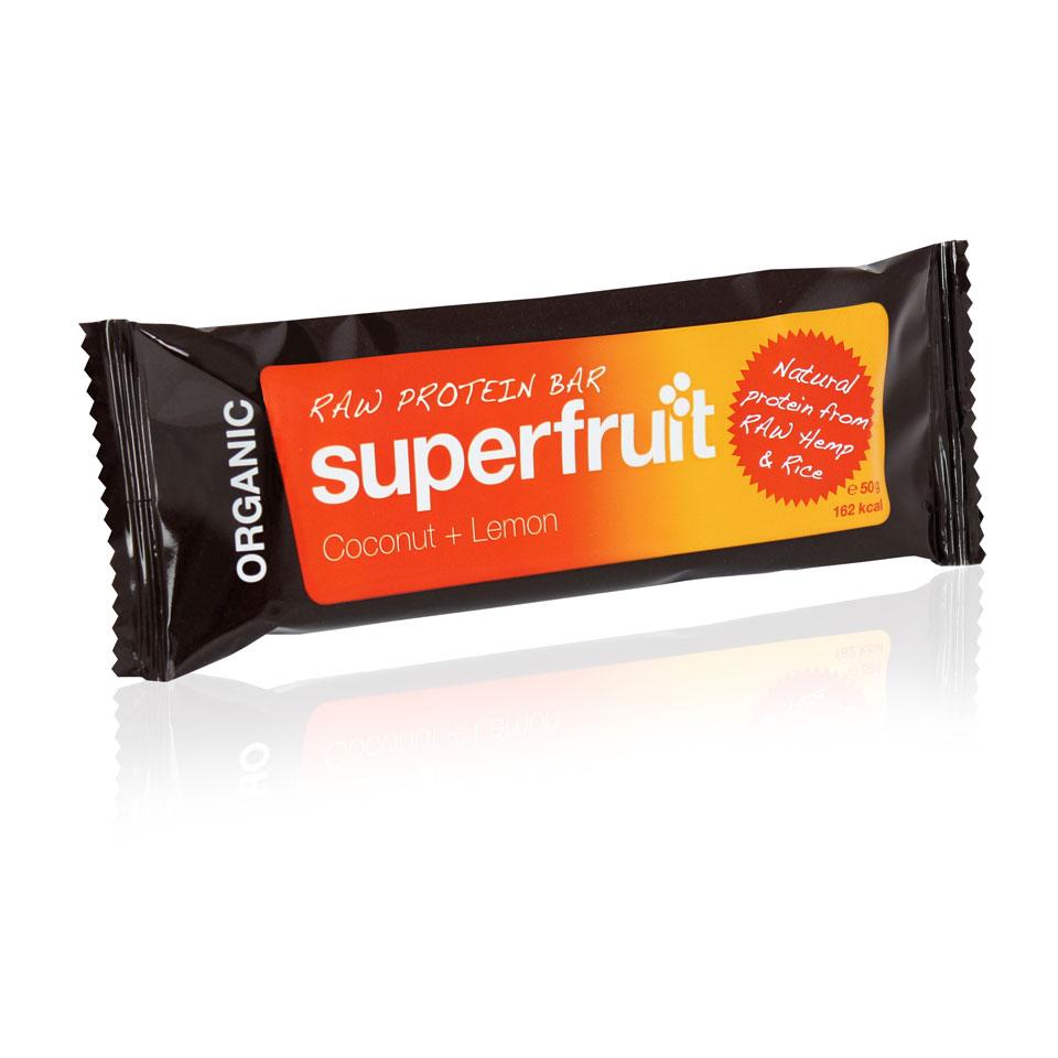 Superfruit Organic Raw Protein Bar 50 gram Coconut/Lemon - Superfruit
