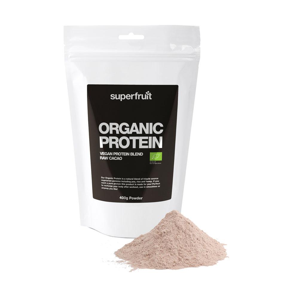 Superfruit Organic Protein Raw Cacao 400 gram - Superfruit