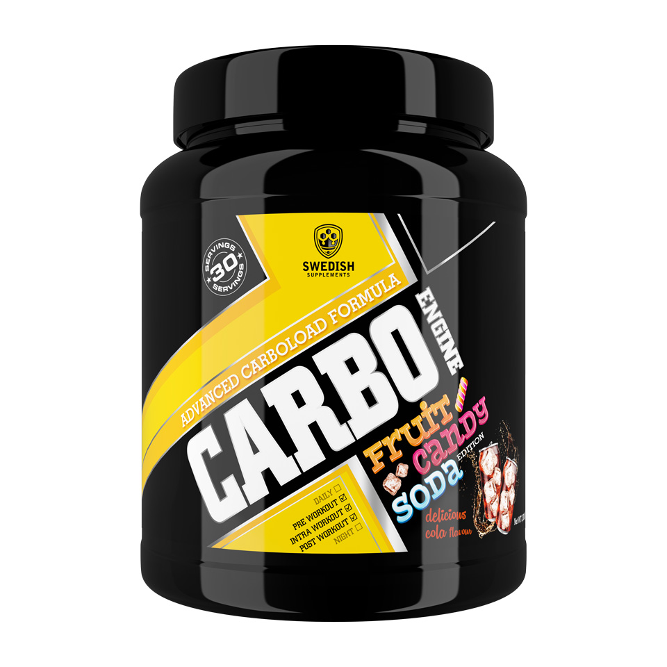 Swedish Supplements Carbo Engine 1000 gram Delicious Cola - Swedish Supplements