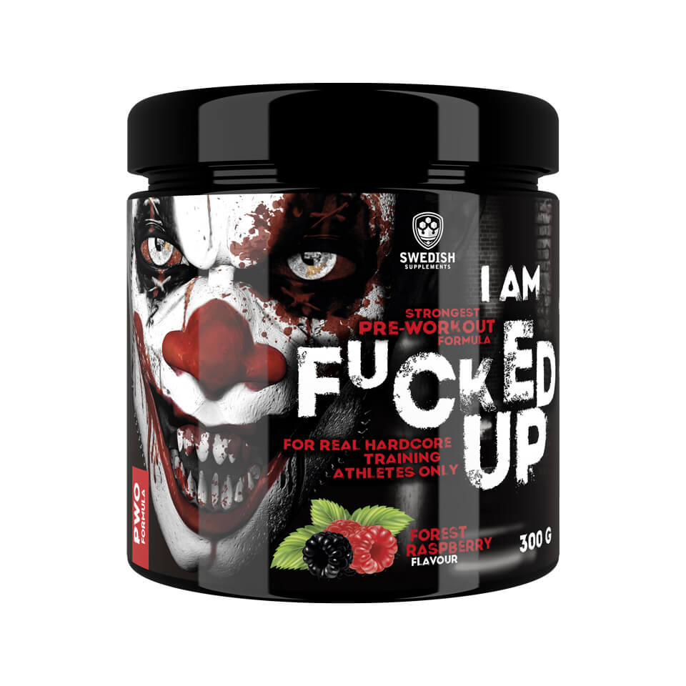 Swedish Supplements F#cked Up Joker Forest Raspberry PWO
