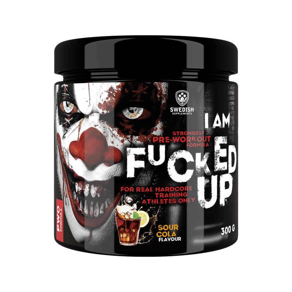 Swedish Supplements F#cked Up Joker Sour Cola PWO