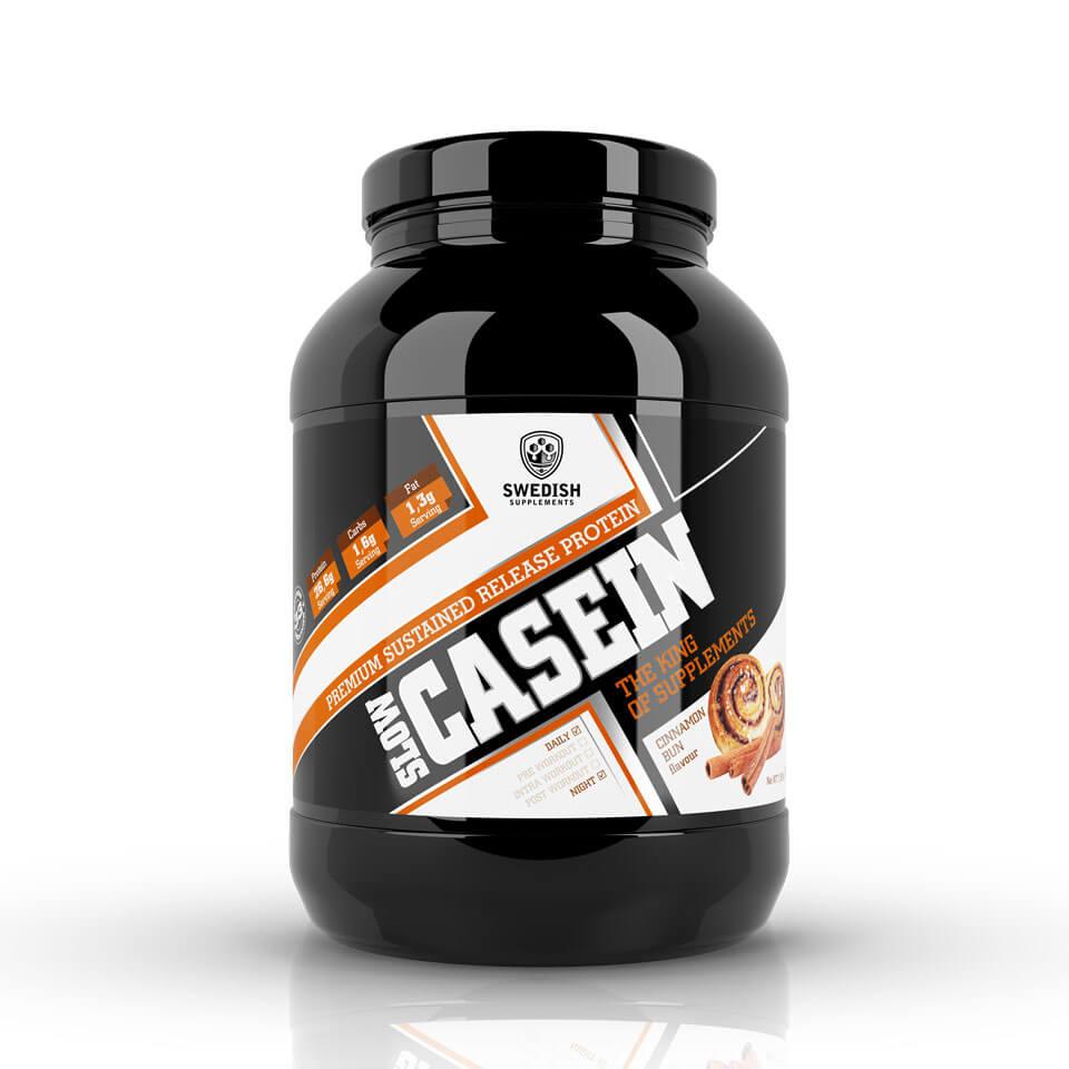 Swedish Supplements Slow Casein 900 gram Cinnamon Bun - Swedish Supplements