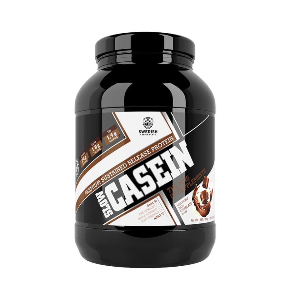 Swedish Supplements Slow Casein 900 gram Heavenly Rich Chocolate - Swedish Supplements