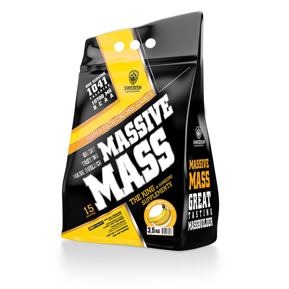Swedish Supplements Massive Mass, 3500 gram 3,5 kg Banana Split - Swedish Supplements