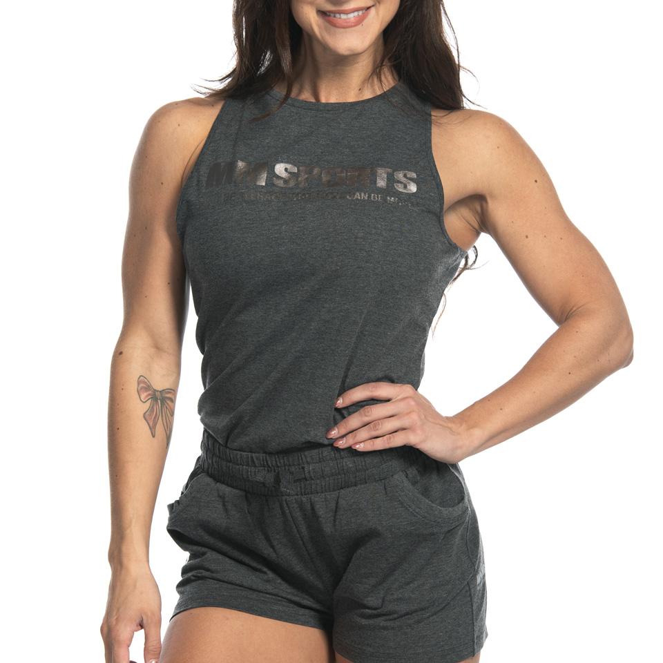 Tank Tindra, Dark Greymelange linne från MM Sports
