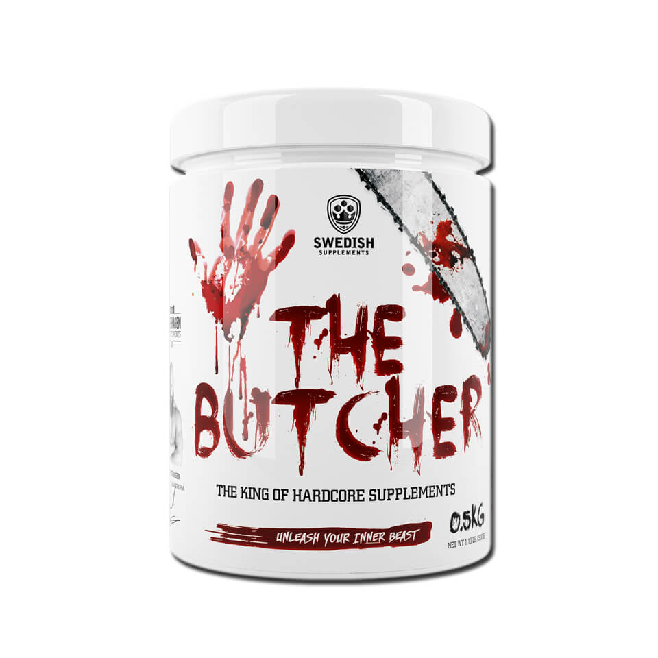 Swedish Supplements The Butcher 500 gram Battlefield Red - Swedish Supplements