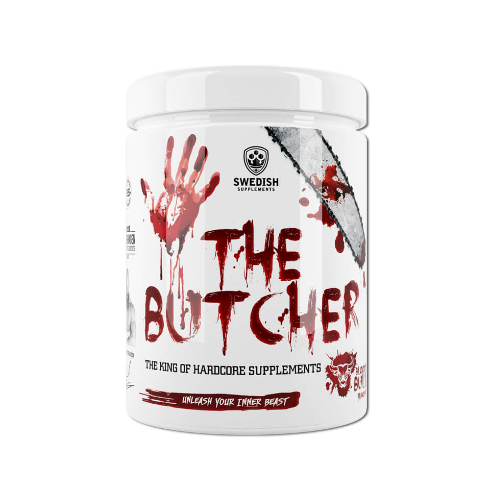 Swedish Supplements The Butcher Energy drink PWO