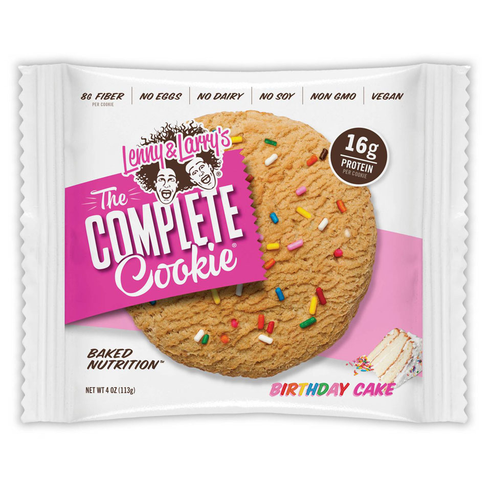 Lenny & Larry The Complete Cookie Birthday Cake - Lenny & Larry