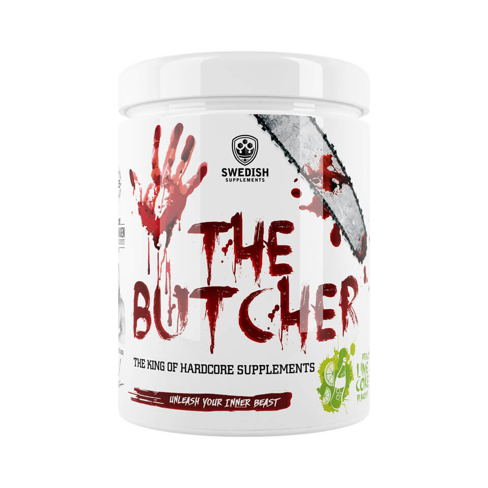 Swedish Supplements The Butcher Frenzy Lime Coke PWO