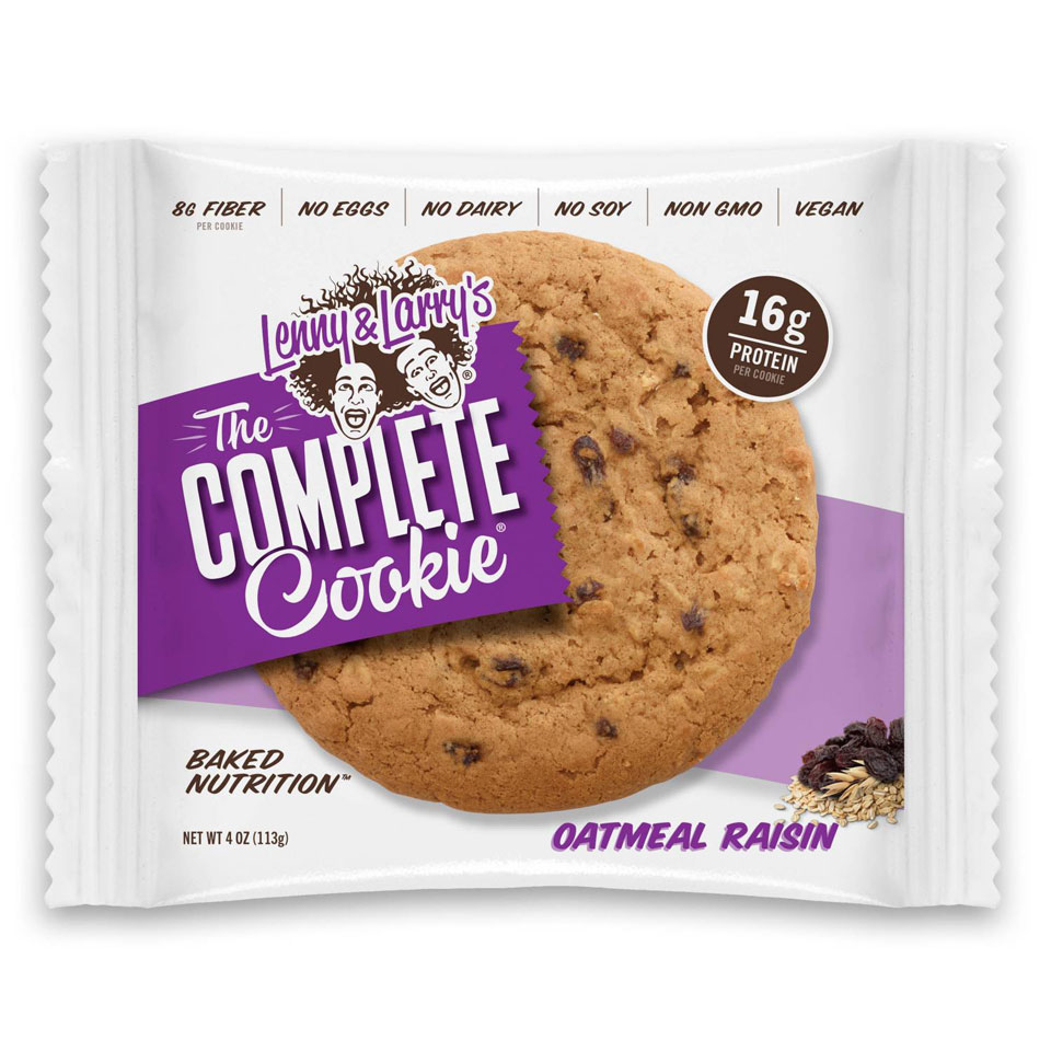 Lenny & Larry The Complete Cookie Oatmeal Raisin - Lenny & Larry