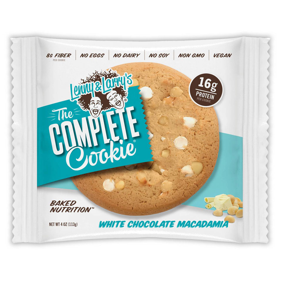 Lenny & Larry The Complete Cookie White Chocolate Macadamia - Lenny & Larry