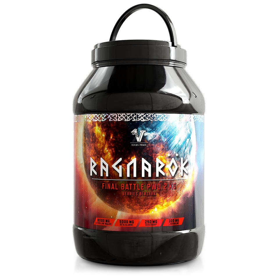 Ragnarök PWO från Viking Power, 2 kg, Berries Berzerk - Pre-workout - Viking Power