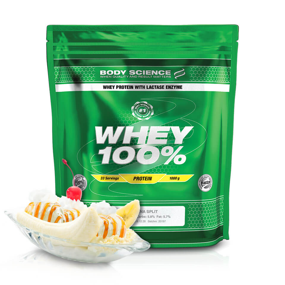 Body Science Whey 100% Banana Split