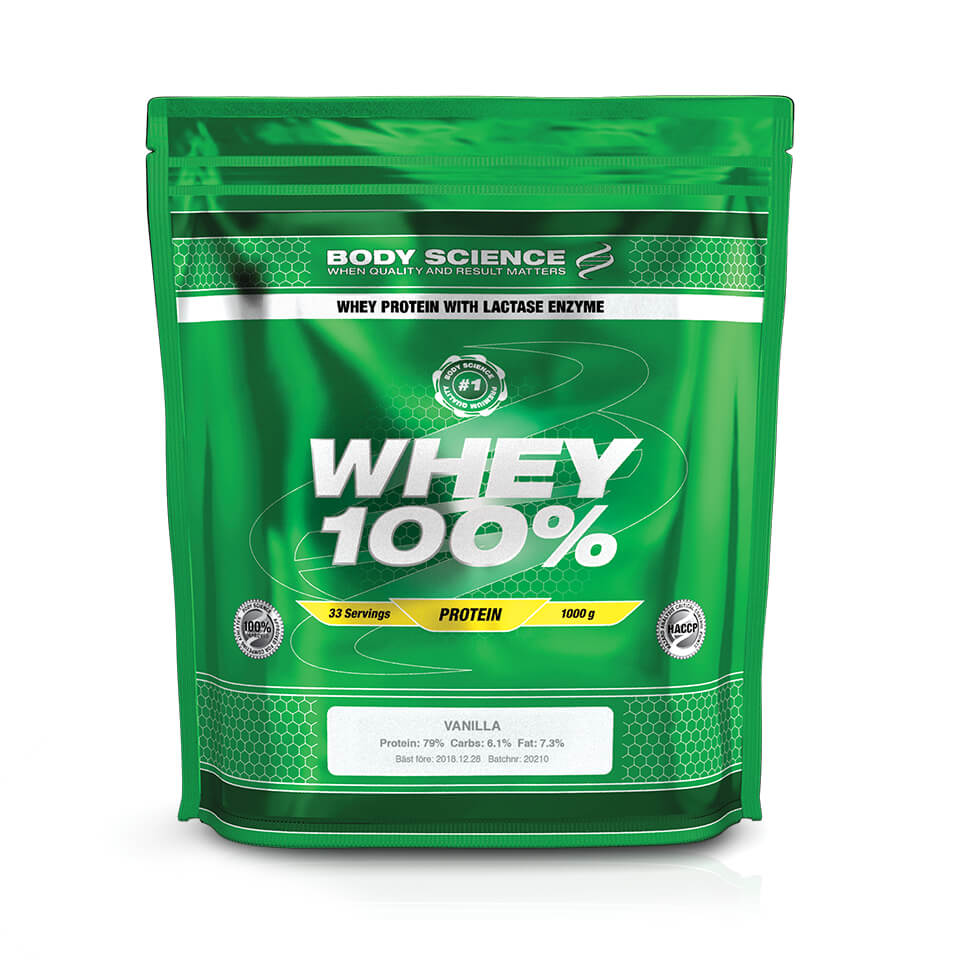 Body Science Whey 100% Vanilla 1 kg - Body Science