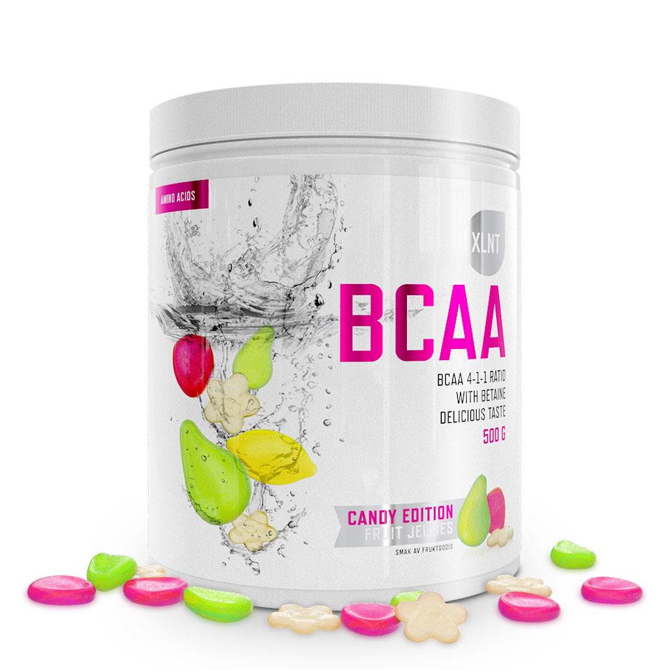 BCAA XLNT Sports, 500 g, Fruit Jellies - Aminosyror - XLNT Sports