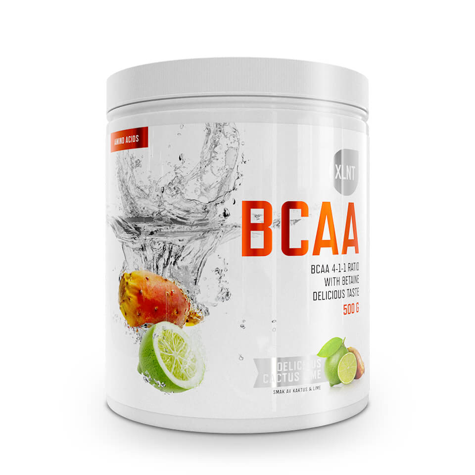 BCAA XLNT Sports, 500 g, Cactus/Lime - Aminosyror - XLNT Sports