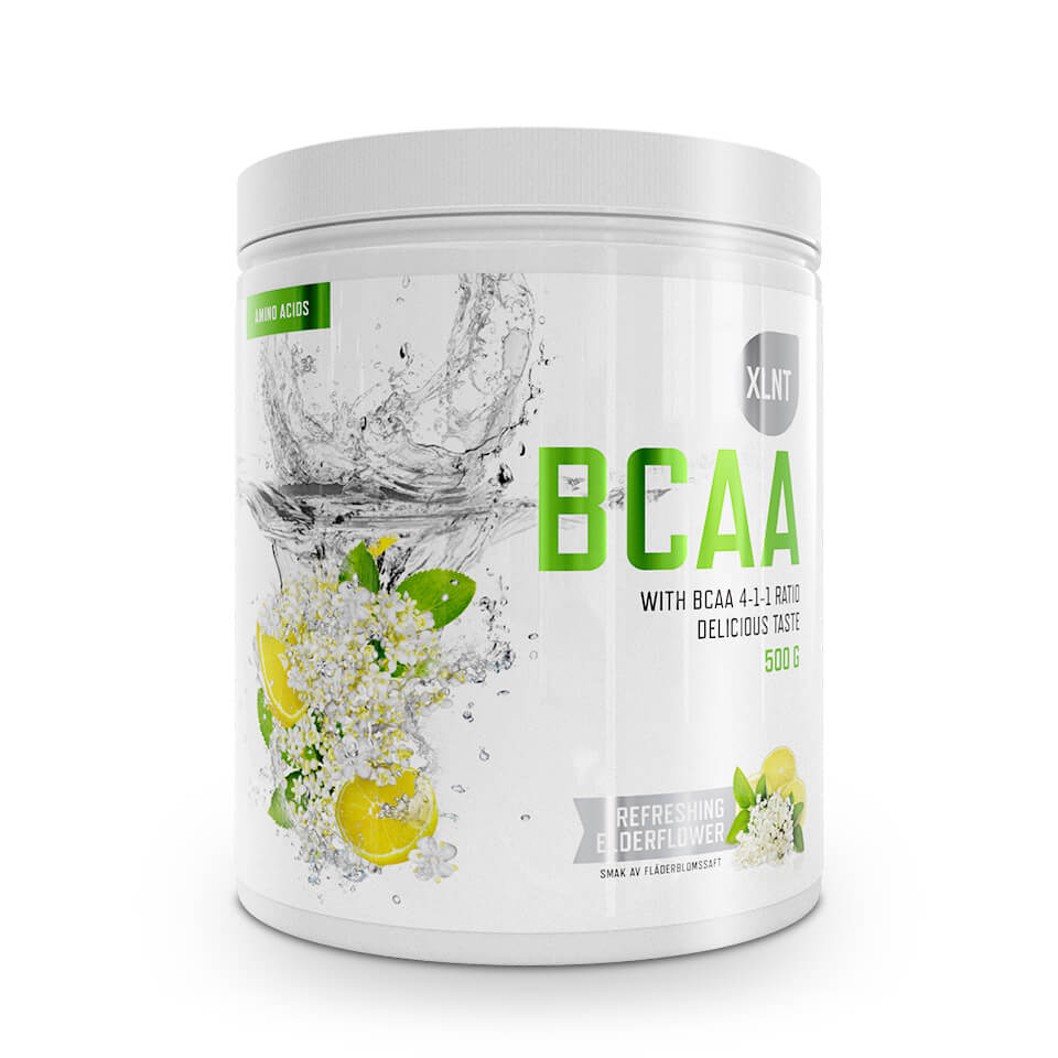 XLNT Sports BCAA Refreshing Elderflower