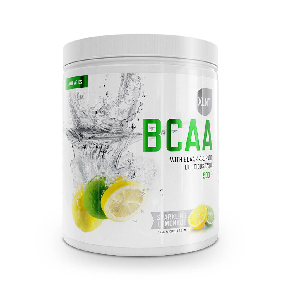 XLNT Sports BCAA Sparkling Lemonade