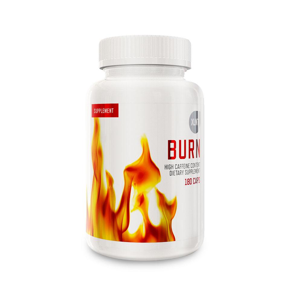 En burk Burn fettförbrännare från XLNT Sports