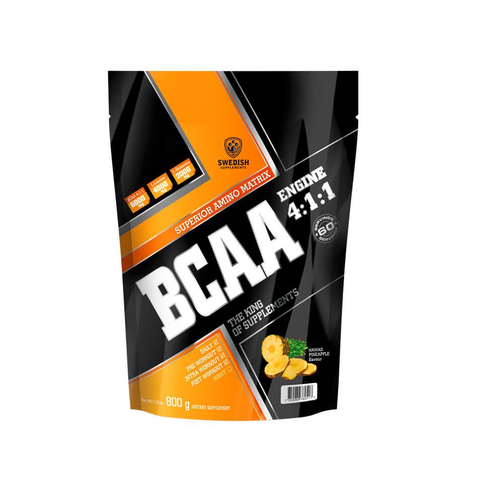 Swedish Supplements BCAA Engine 4:1:1 800 g Hawaiian Pineapple