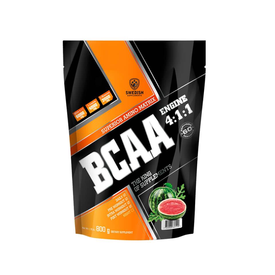 Swedish Supplements BCAA Engine 4:1:1 800 g Watermelon Mania