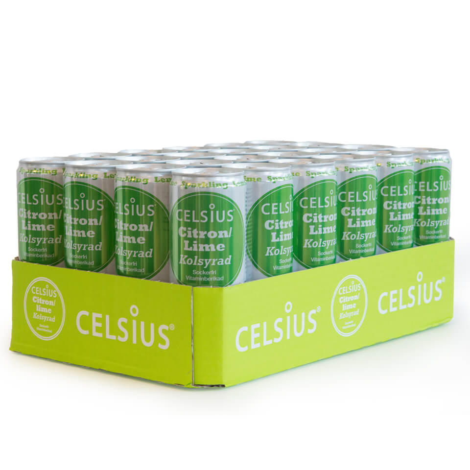 Celsius Flak 24-pack Citron Lime