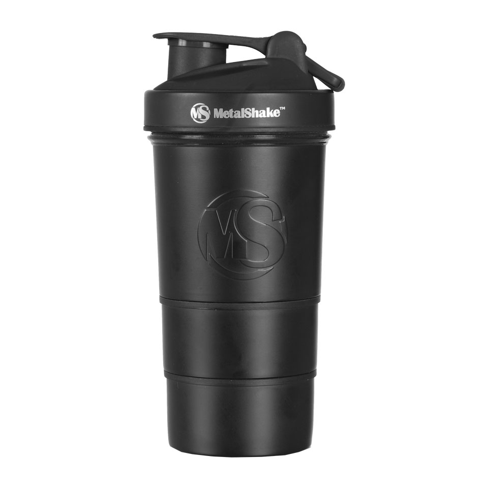 MetalShake by Sweden MetalShake 600 ml Black Steel - MetalShake by Sweden