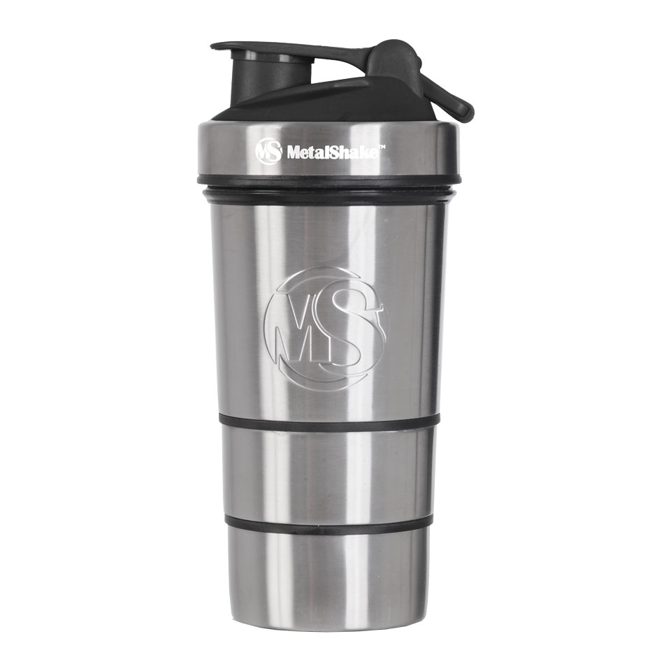 MetalShake by Sweden MetalShake 600 ml Cool Steel - MetalShake by Sweden