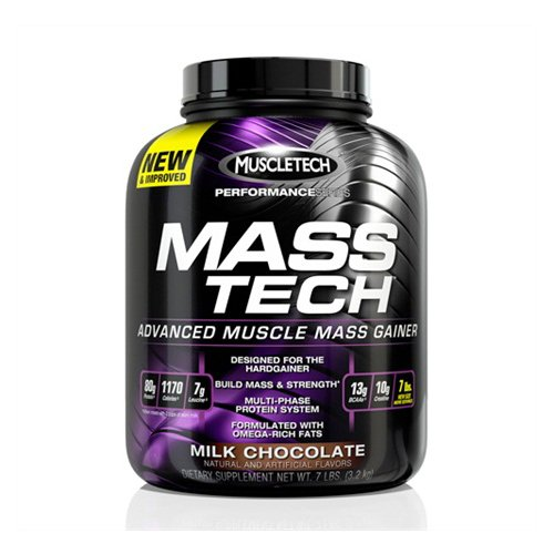 MuscleTech Performance Series - Mass-Tech Milk Chocolate - MuscleTech