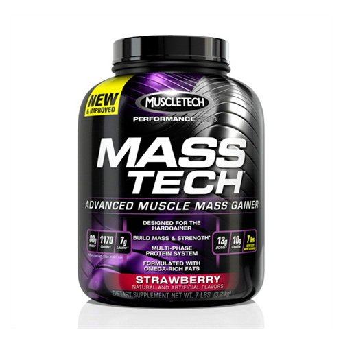 MuscleTech Performance Series - Mass-Tech Strawberry - MuscleTech