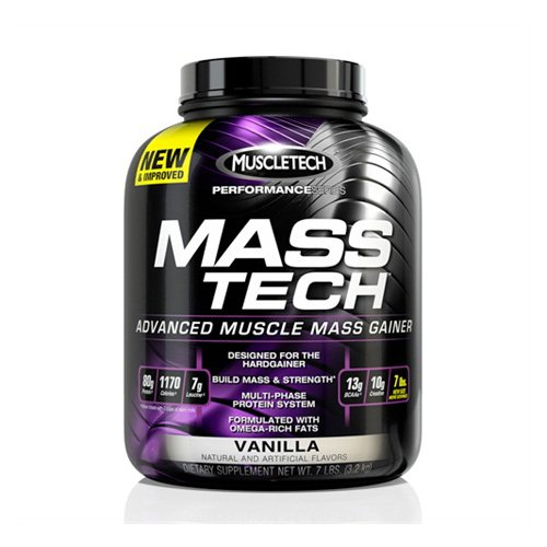 MuscleTech Performance Series - Mass-Tech Vanilla - MuscleTech