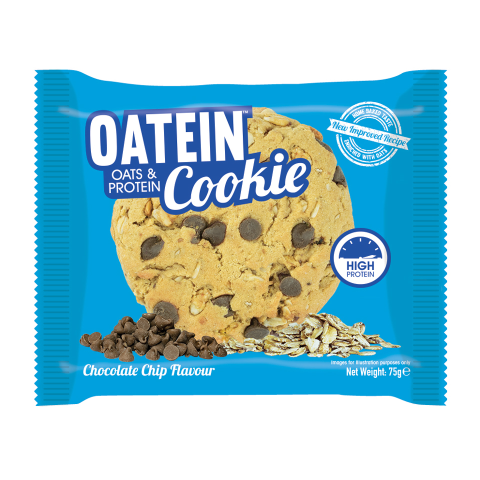 Oatein Cookie 75 gram Chocolate Chip - Oatein