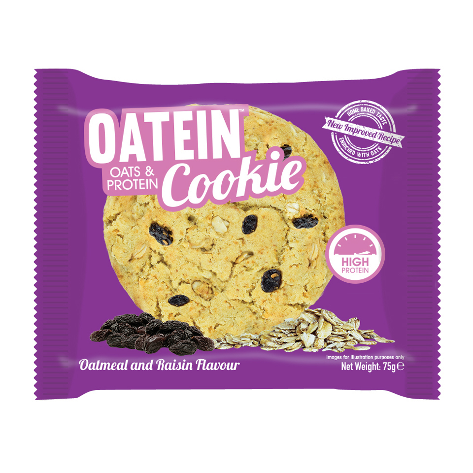 Oatein Cookie 75 gram Oatmeal & Raisin - Oatein
