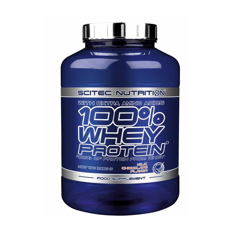 Scitec Nutrition Scitec 100% Whey Protein 2,35 kg Milk Chocolate - Scitec Nutrition