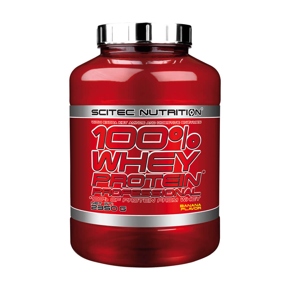 Scitec Nutrition Scitec 100% Whey Protein Professional 2,35 kg Strawberry - Scitec Nutrition