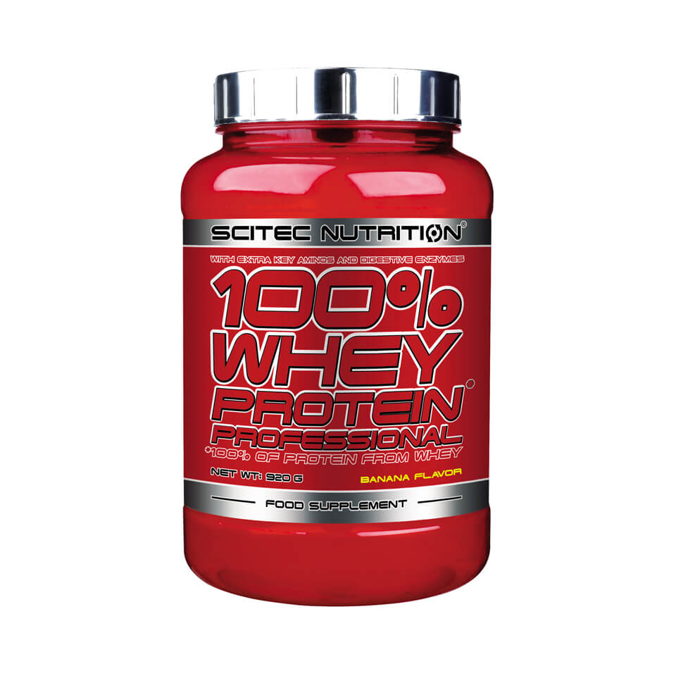 Scitec Nutrition Scitec 100% Whey Protein Professional 0,92 kg Strawberry - Scitec Nutrition