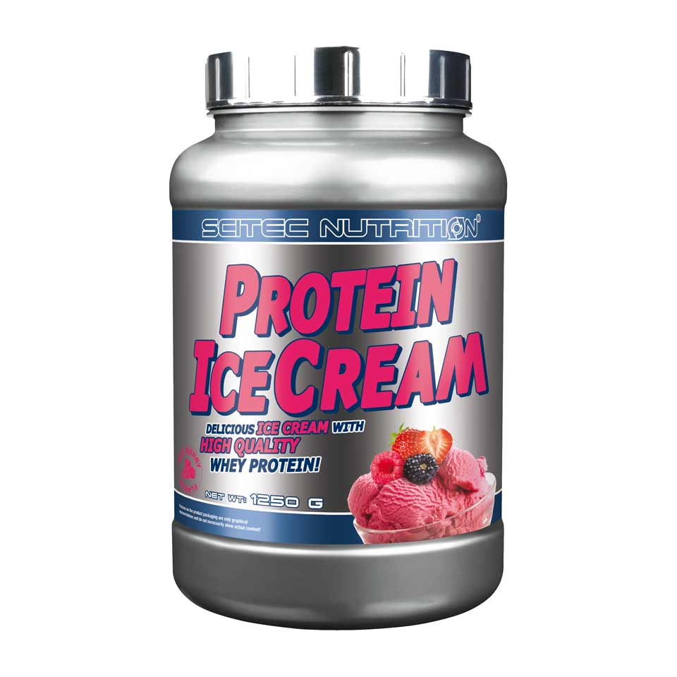 Scitec Nutrition Scitec Protein Ice Cream 1250 gram Red Berry - Scitec Nutrition