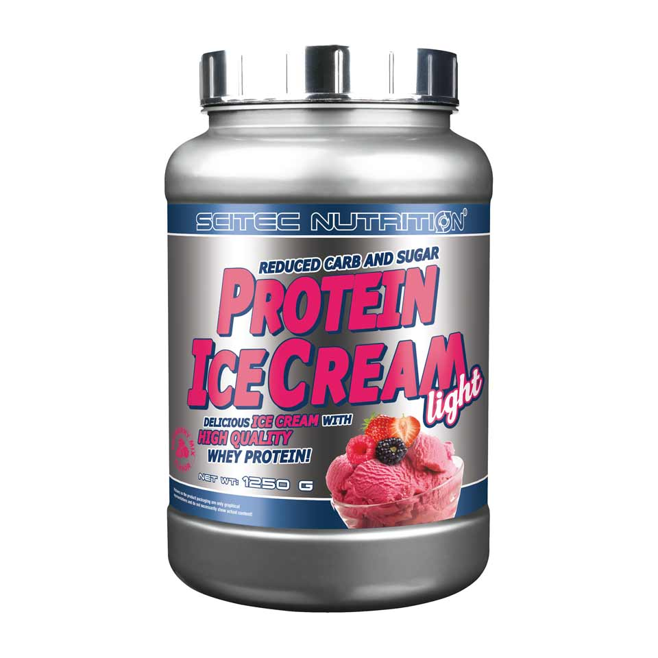 Scitec Nutrition Scitec Protein Ice Cream Light 1250 gram Red Berry - Scitec Nutrition