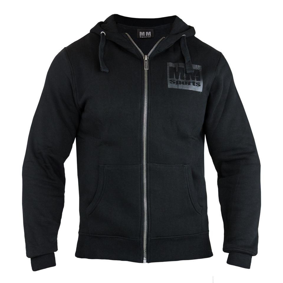 MM Sports träningshoodie – MM Hood HD - Black, XXL - Träningskläder