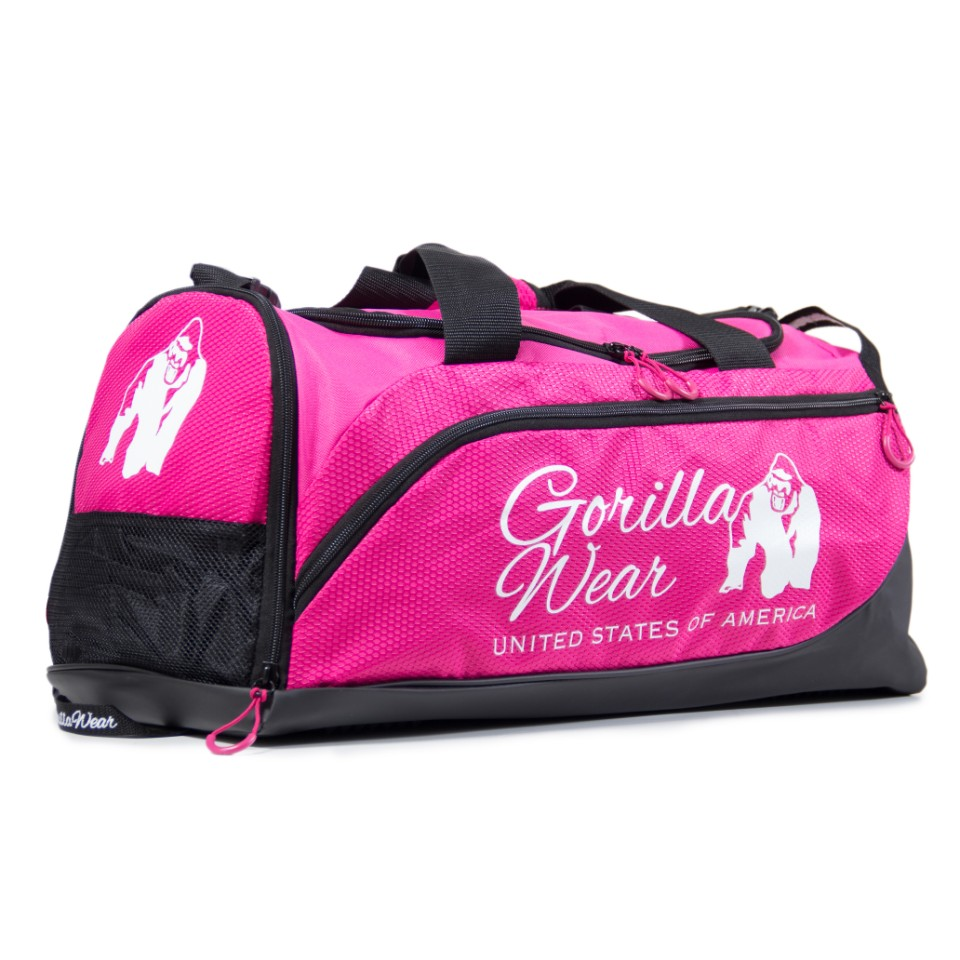Gorilla Wear Santa Rosa Gym Bag Rosa/Svart - Gorilla Wear