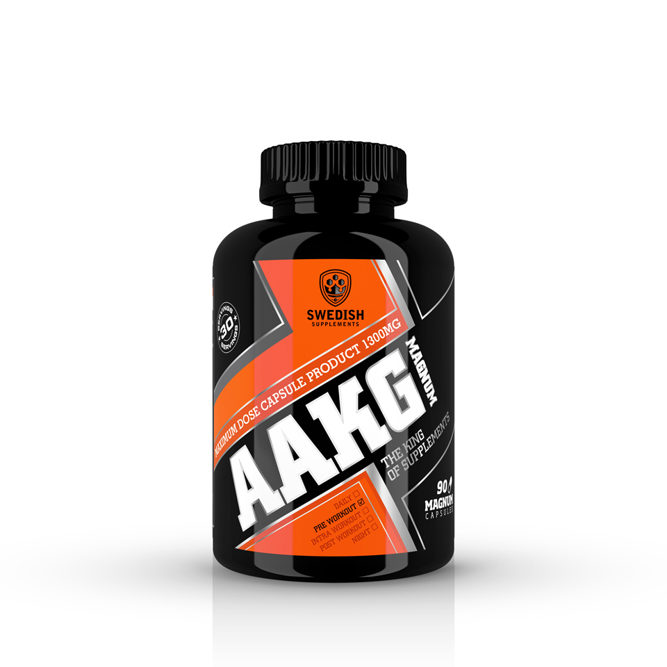 Swedish Supplements AAKG Magnum 90 kapslar - Swedish Supplements