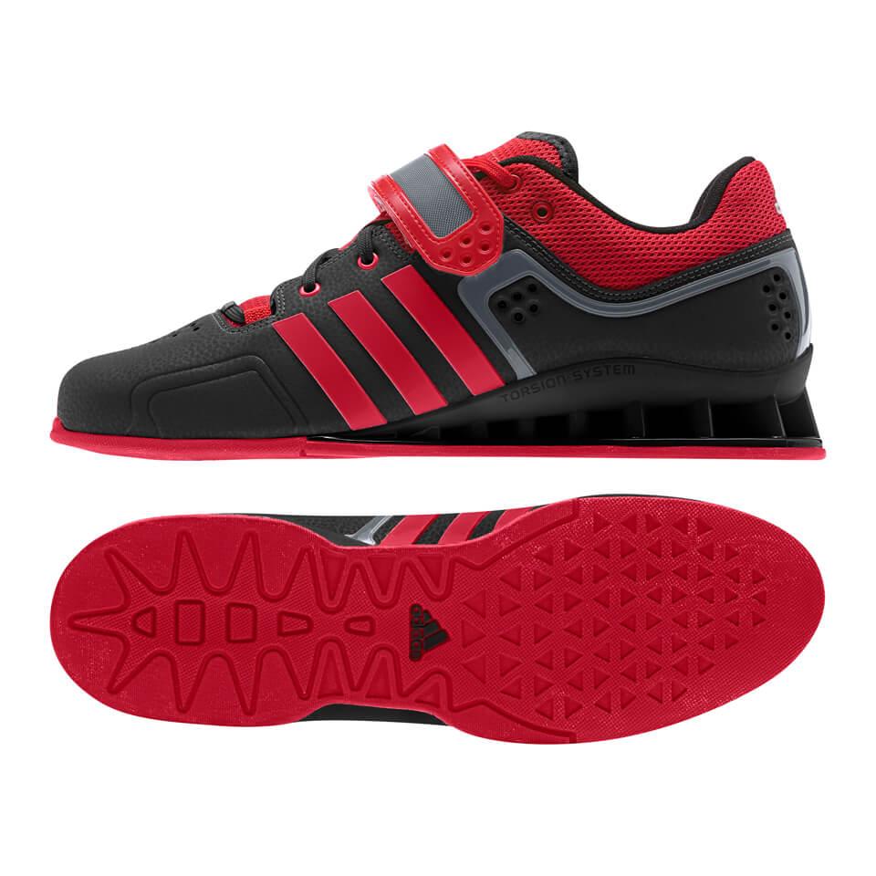 Adidas adiPower Weightlifting, Svart/Röd Svart/Röd 38 - Adidas