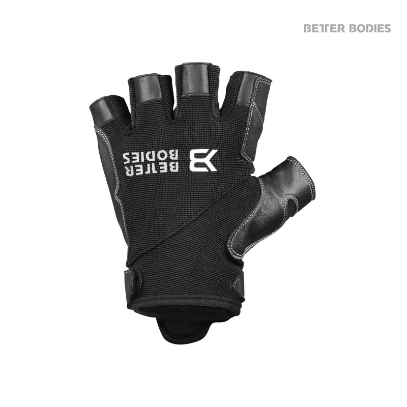 Better Bodies Pro Gym Gloves Black/Black S - Better Bodies